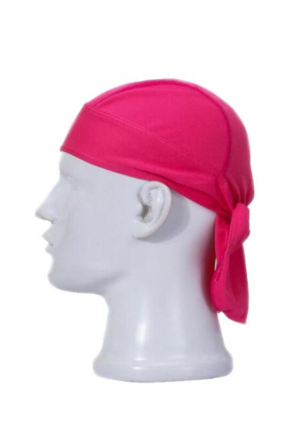 бандана розовая