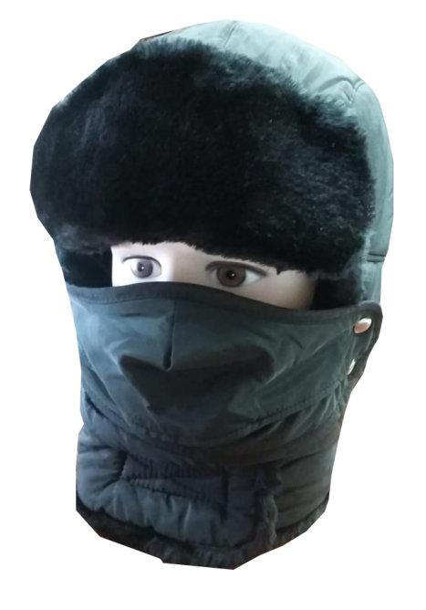 шапка с маской